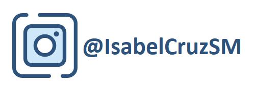 Instagram: @IsabelCruzSM