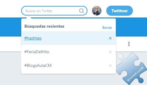 buscador twitter - biblioteca de hashtags - Isabel Cruz Social Media