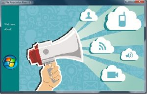 Altavoz para difundir un mensaje en redes