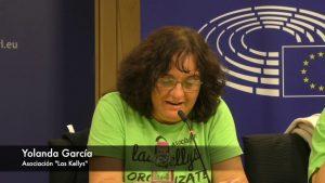 Las Kellys en el Parlamento Europeo de Bruselas