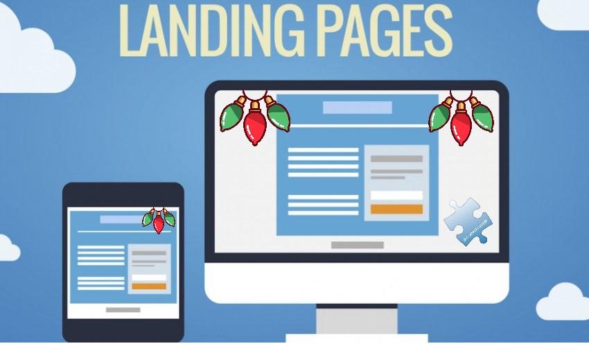 Landing page o página de inicio